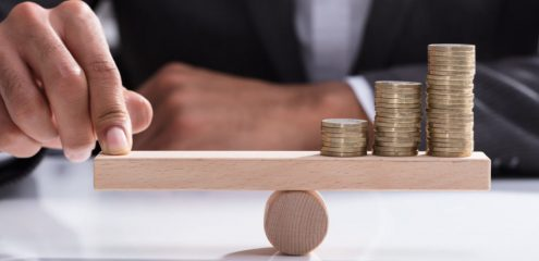 Balans financiën
