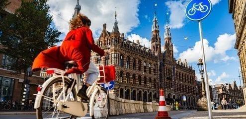 fiets van de zaak met de leasefiets volgens het fietsplan 2020